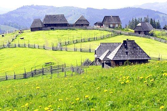 La Roumanie - Paysage champêtre