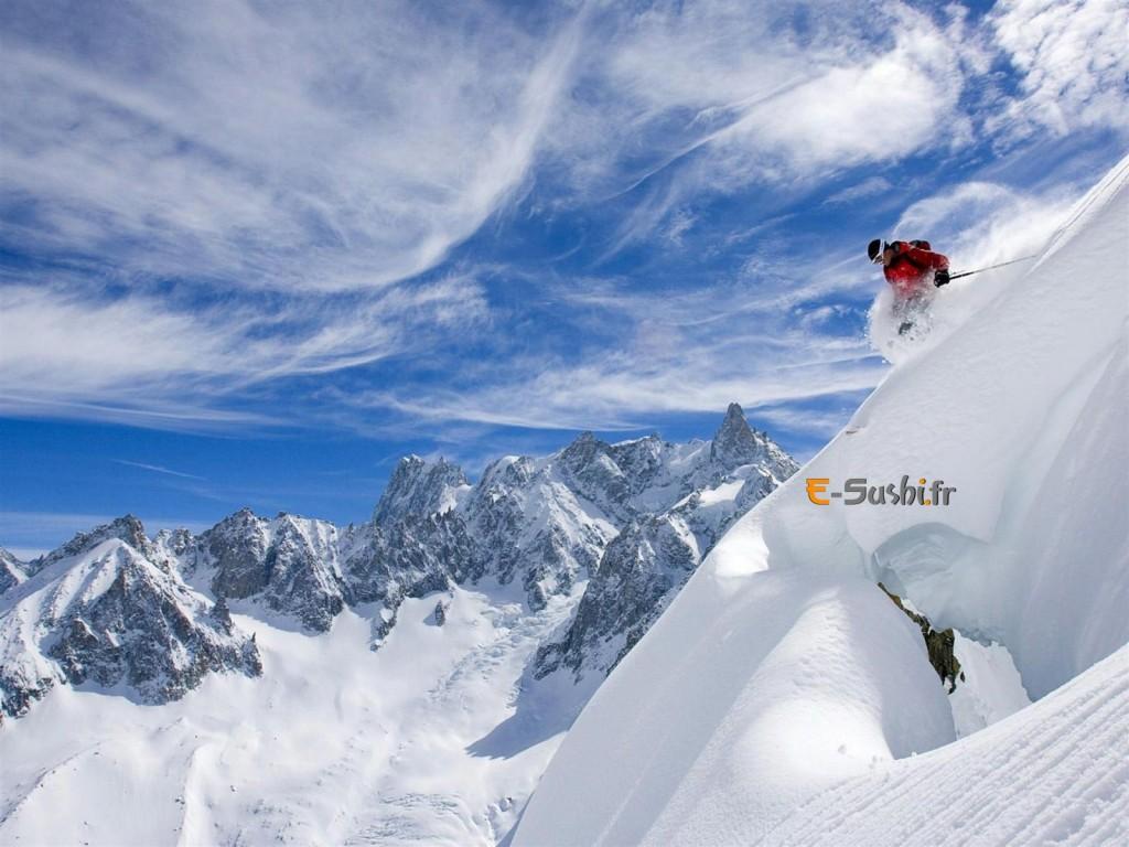 Ski et Montagne - Wallpaper