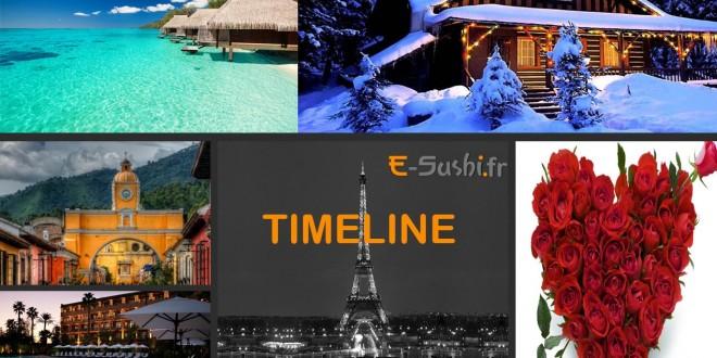 timeline - site e-Sushi