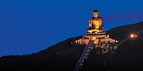 Grand bouddha - hong kong