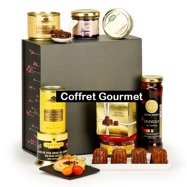 Coffret cadeau gourmand gastronomique