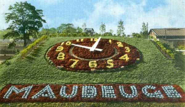 Maubeuge Horloge-fleurie