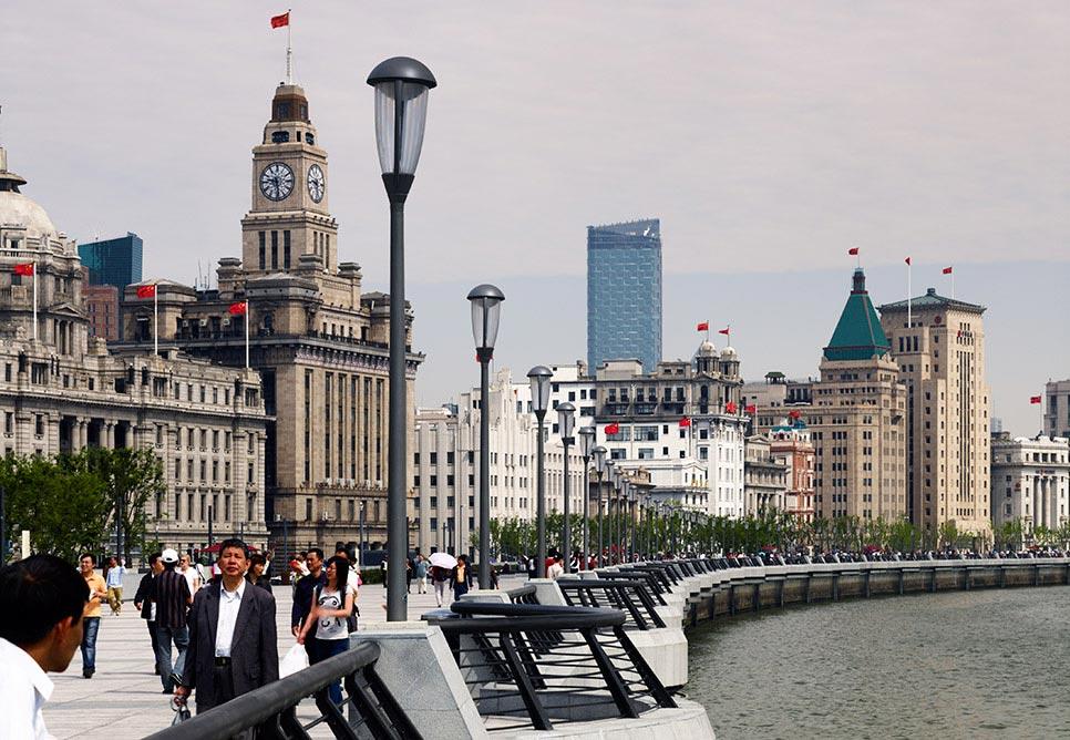 Bund à Shanghai
