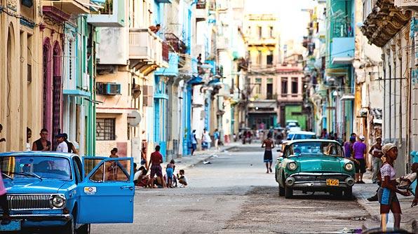 Une rue de Cuba