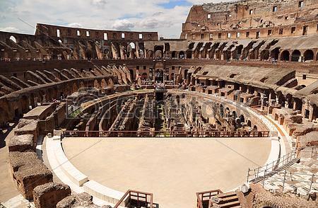Colisée de Rome - Arènes