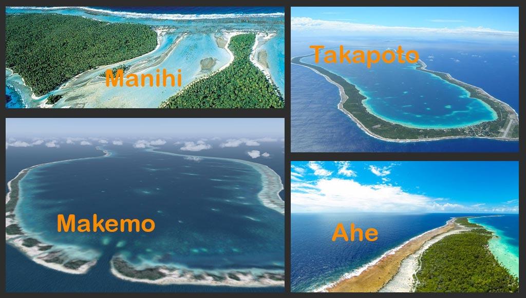 Les atolls de tuamotu arts et voyages for Art et cuisine tahiti