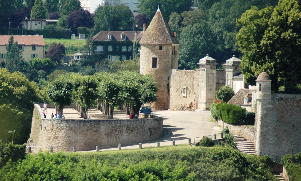 Plan De La Ville D Avallon