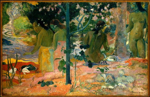 Les baigneuses de Gauguin