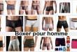 boxer pour homme
