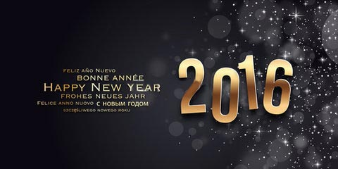Carte Bonne Année 2016