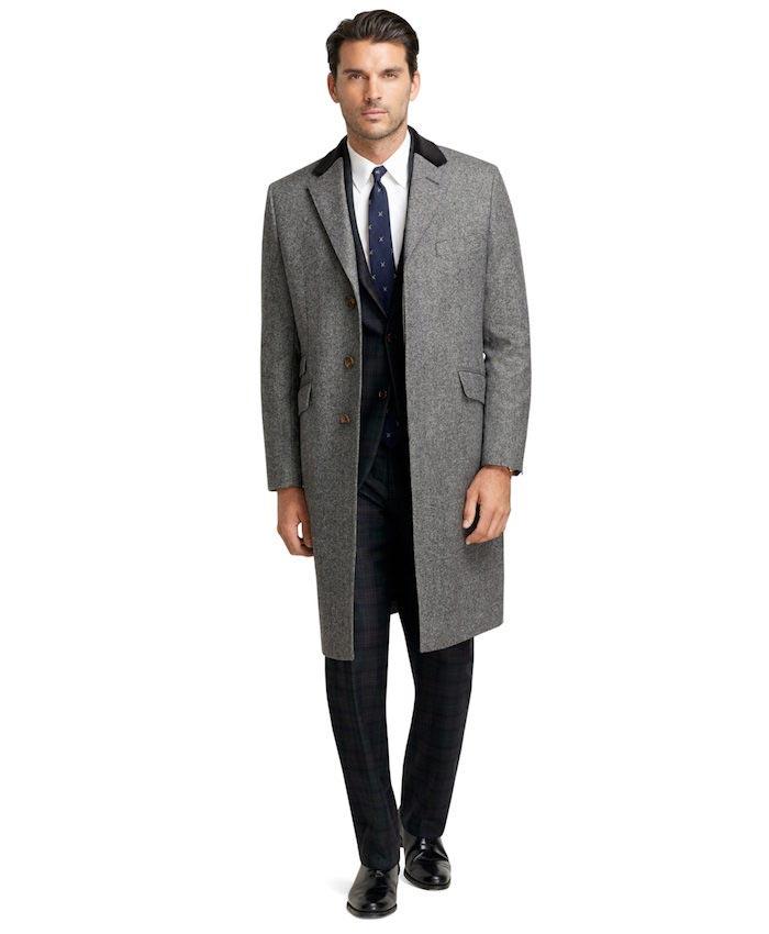 Manteau pour homme long