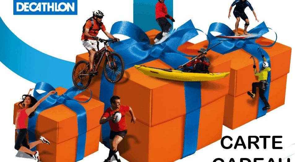 Decathlon - Carte cadeau