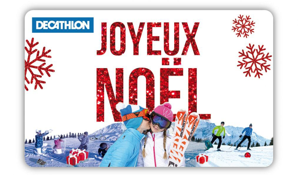 Carte cadeau noel digitale