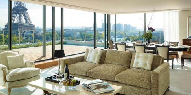 Un hôtel de luxe à Paris