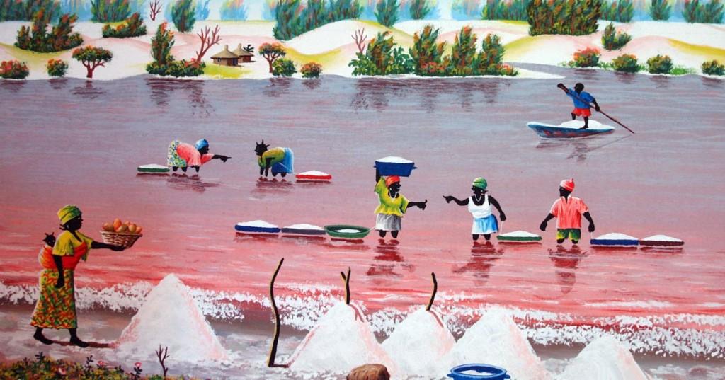 Lac Rose du Sénégal