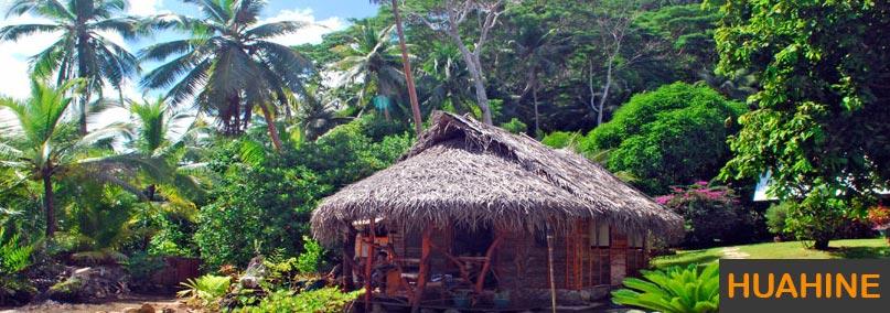 Une maison sur Huahine