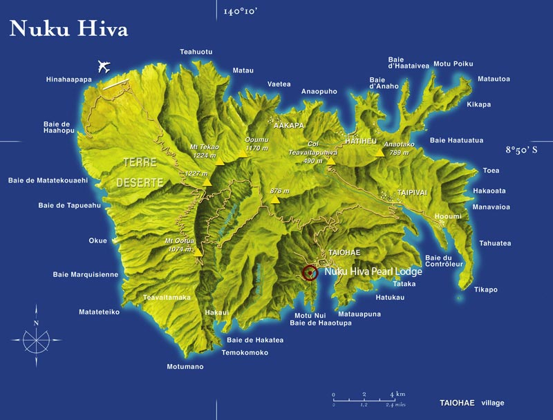 Nuku-Hiva Carte