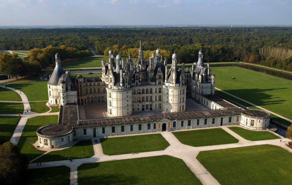 Le parc du château de Chambord