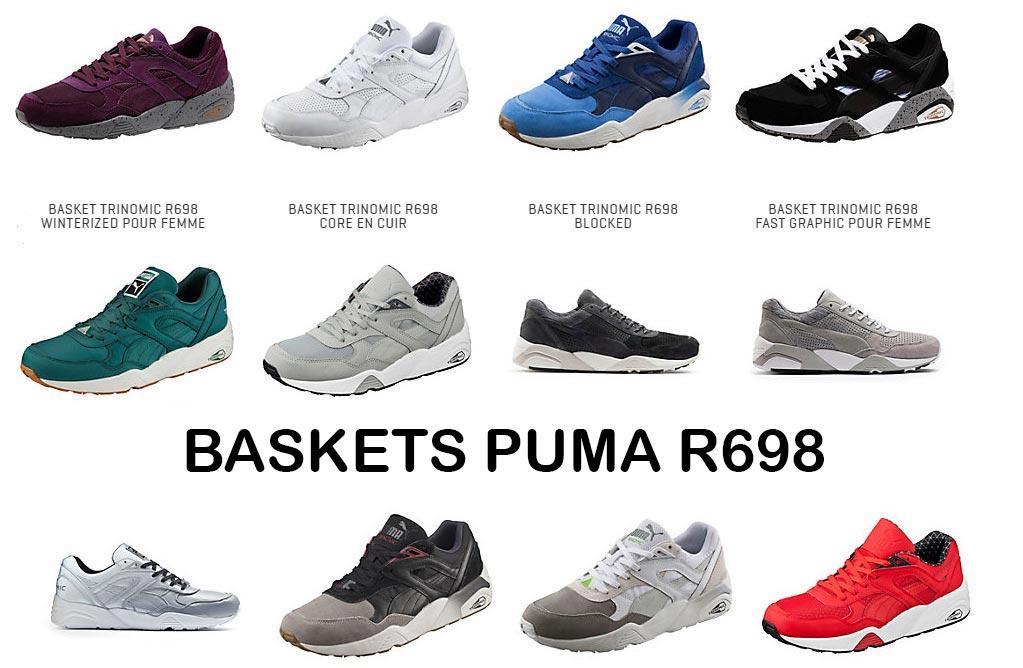 basket puma femme r698