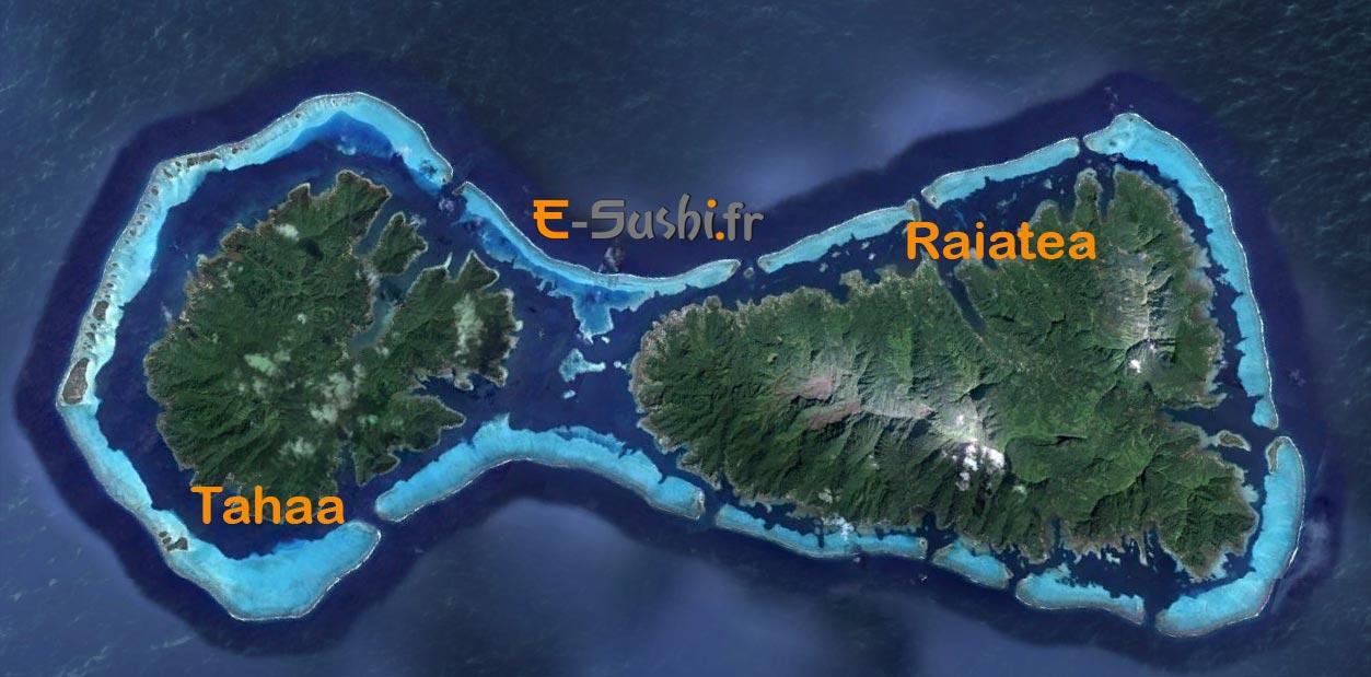 Iles Polynésiennes de Raiatea et Tahaa