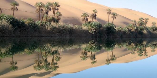 Libye - Paysage du Sahara