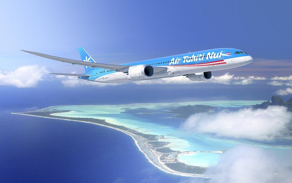 Ile de Tahiti vue du ciel