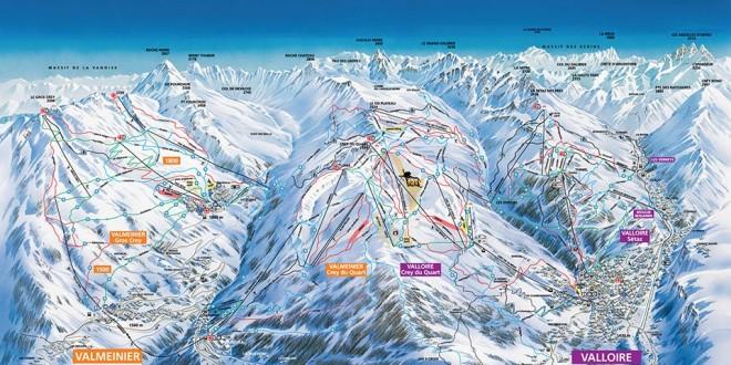 Domaine skiable - France