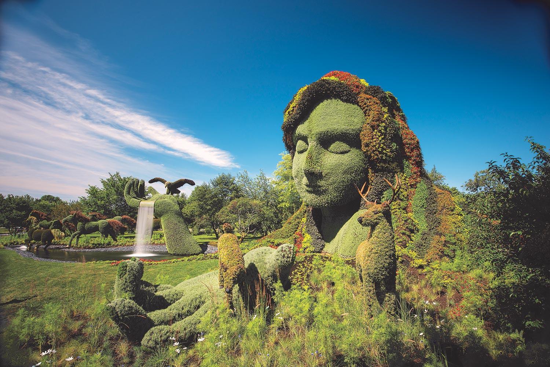 Mosaiculture internationale de Montréal - la Terre mère