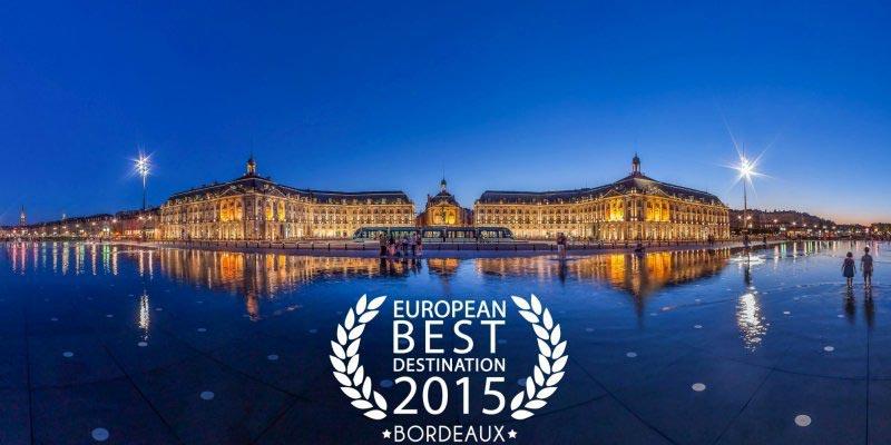 Bordeaux élue meilleure destination européenne