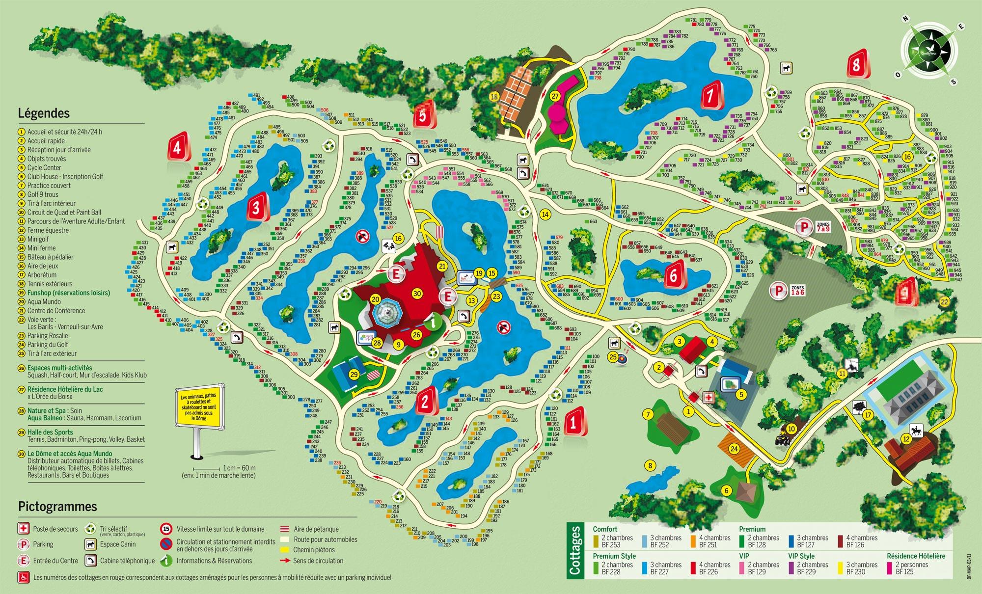 Normandie Center Parcs Arts et Voyages # Avis Center Parc Les Bois Francs