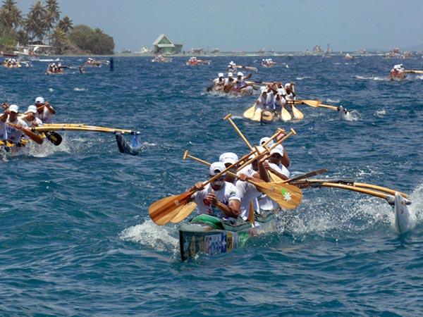 Hawaiki - La course de pirogues en polynésie