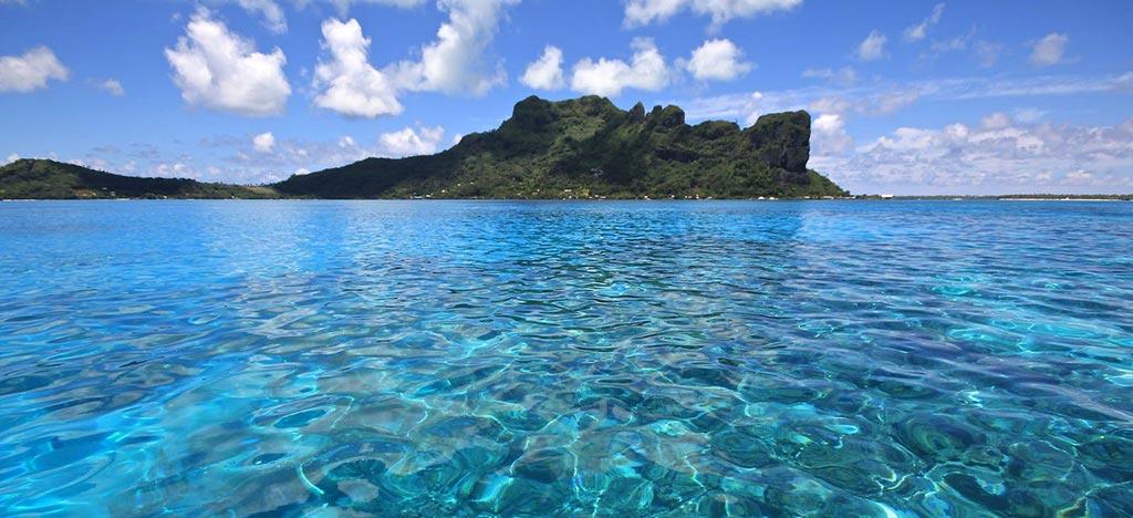 Ile de Polynésie Maupiti