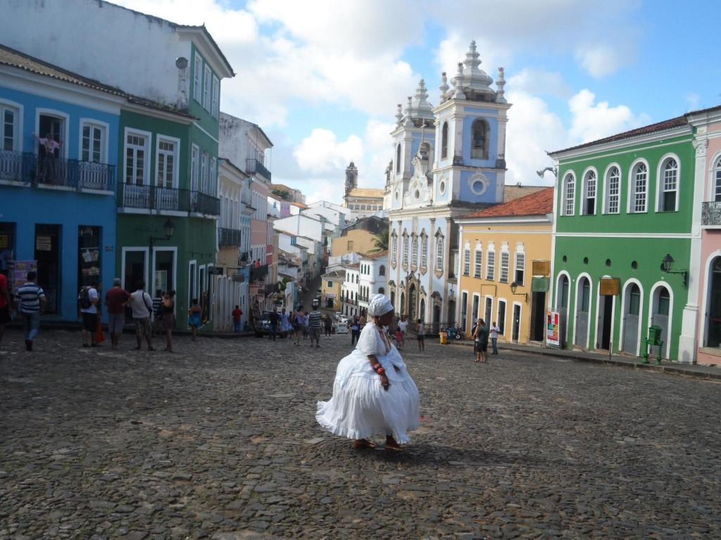 Salvador - Brésil - place du Pelourinho