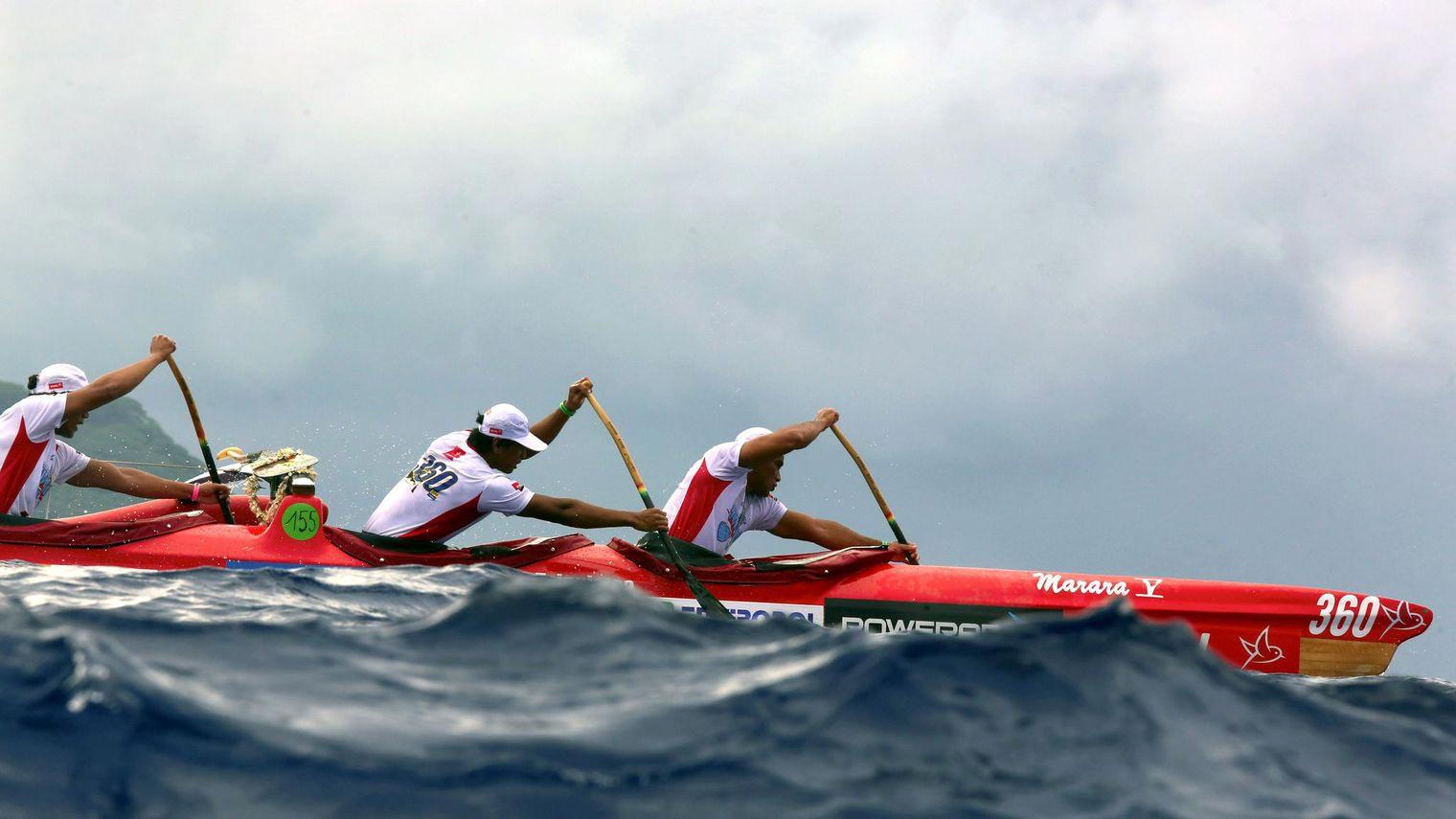 course de pirogue hawaiki nui