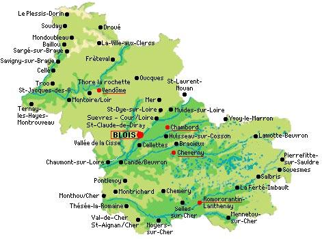 Loir et cher arts et voyages for Region loiret