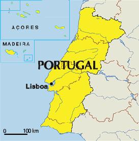 Portugal - Carte