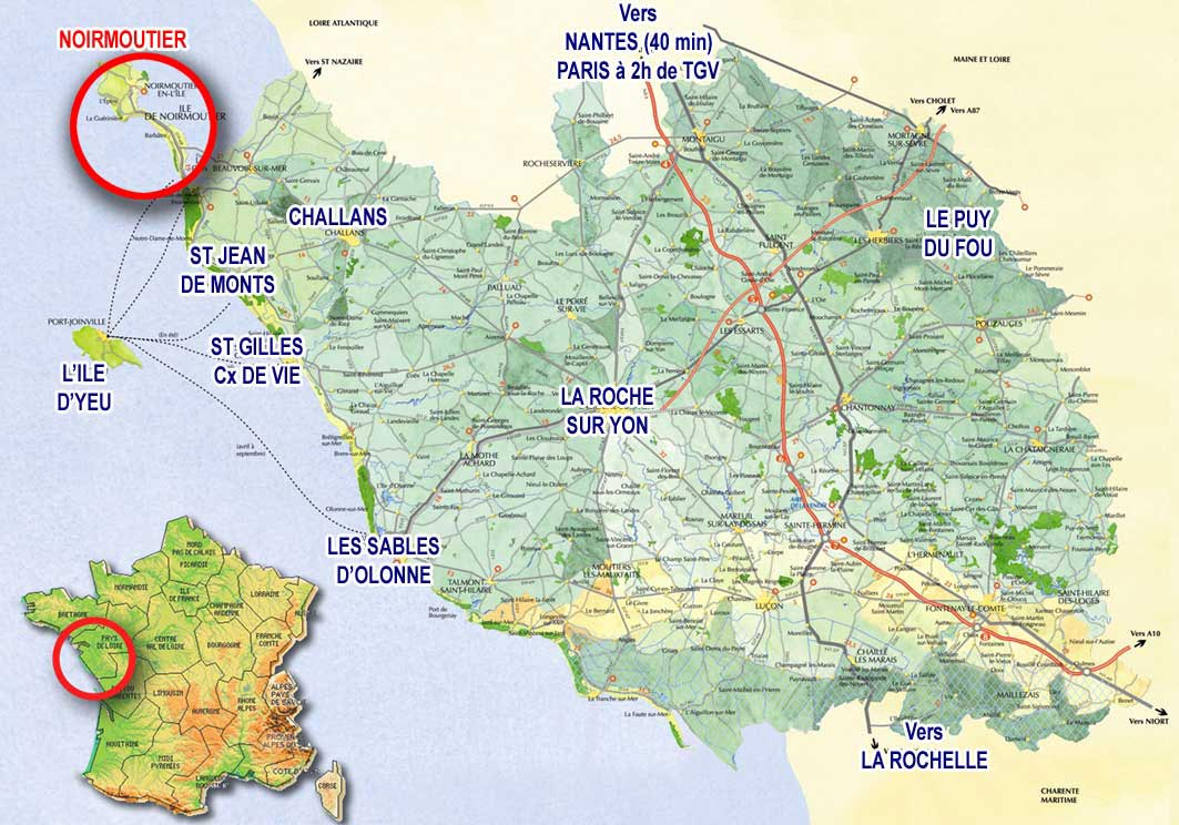 noirmoutier carte
