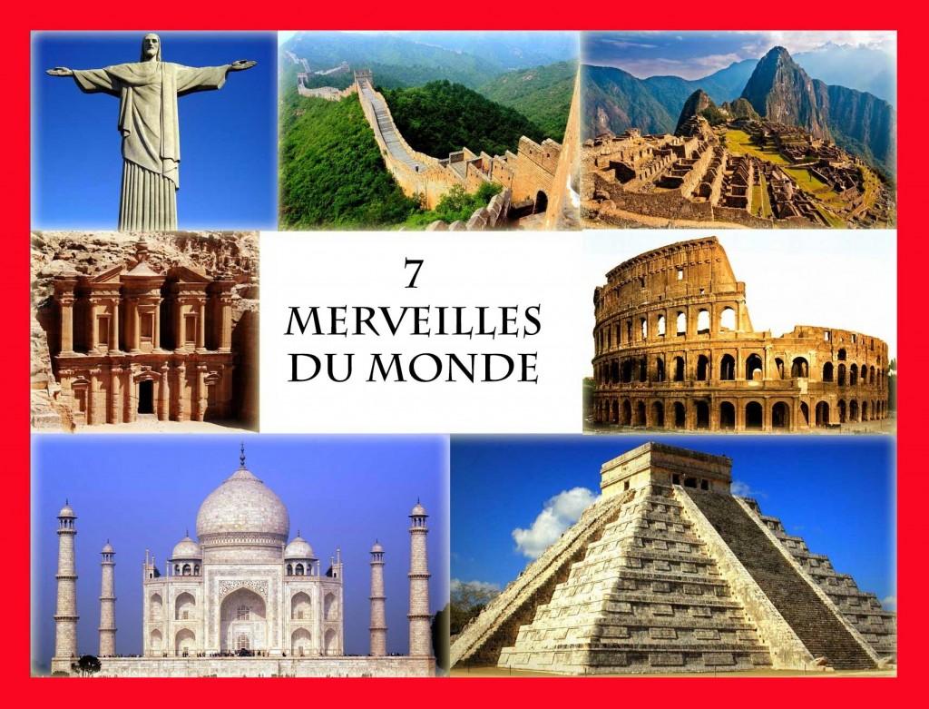 7 merveilles du mondes