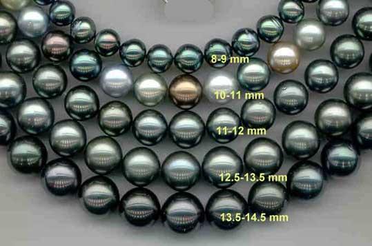 Perles noire de Tahiti