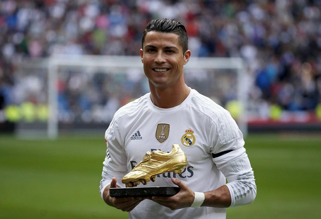 Photo de Ronaldo au Real de Madrid