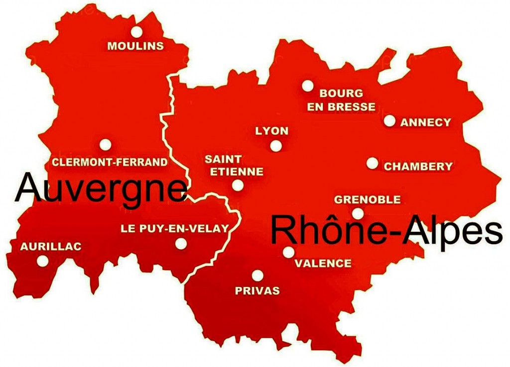 Grande Ville En Rhone Alpes