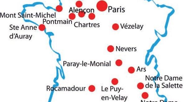 Villes sanctuaires en France - Carte