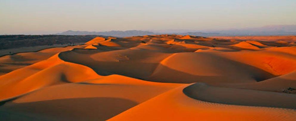 désert rouge de Wahiba