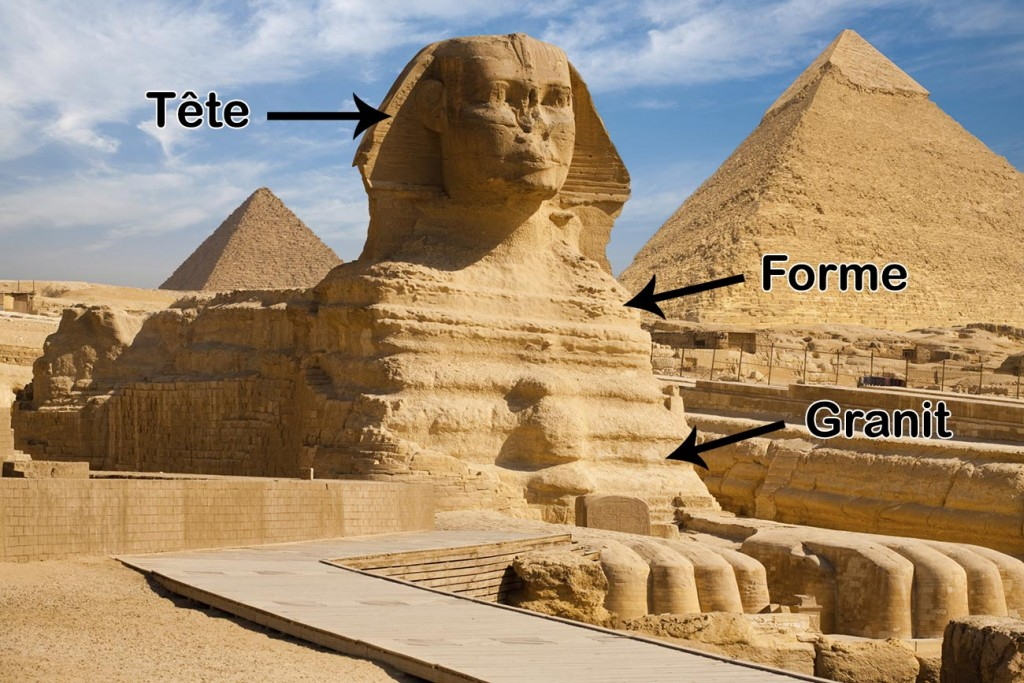 Le Sphinx - Egypte