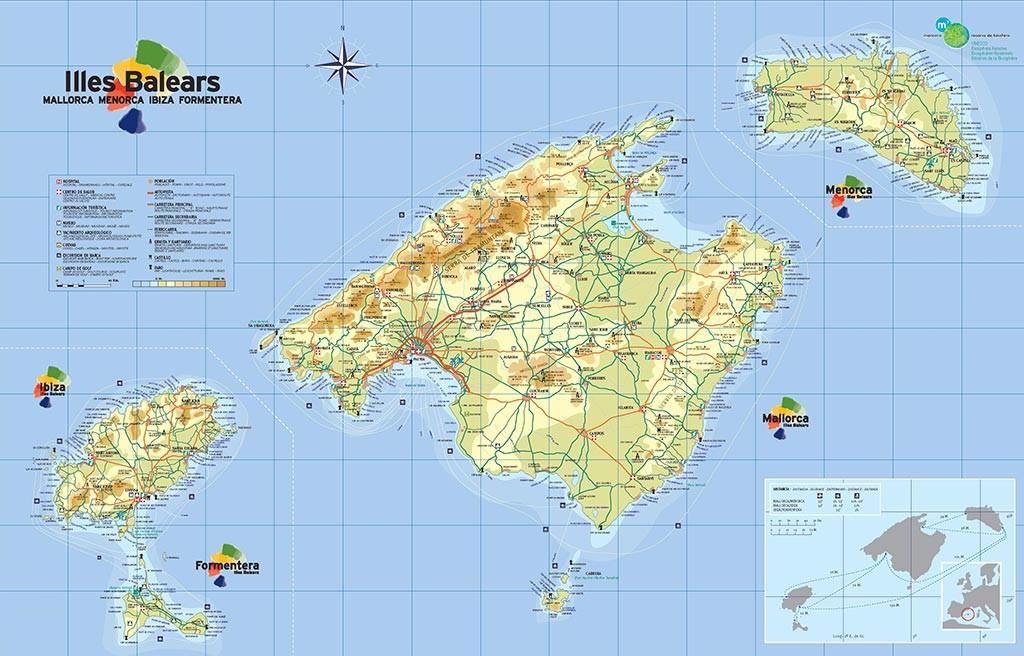 Minorque - Carte