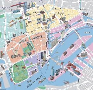 Rotterdam - Carte