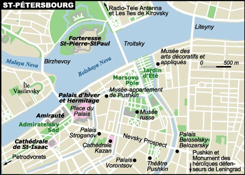 st-petersbourg-plan