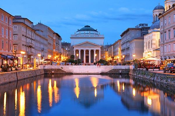 le Canal Grande à Trieste