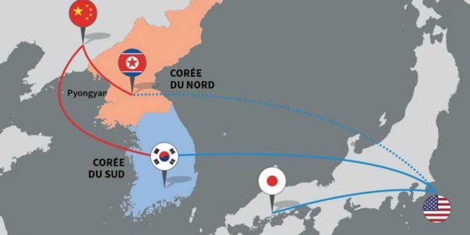 Carte Corée du Nord