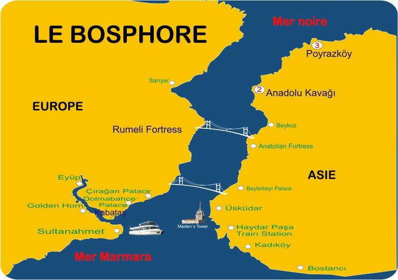 Carte du Bosphore